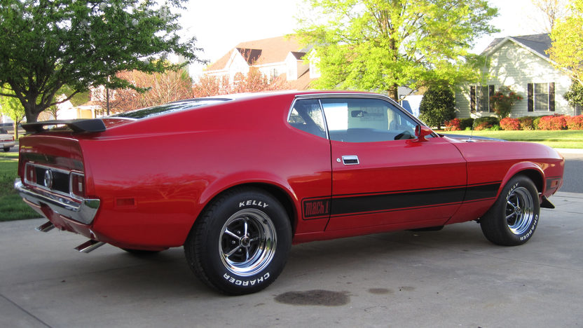 1973 Ford Mustang Mach 1 Fastback 351 CI, Automatic presented as lot F68 at Dallas, TX 2013 - image2