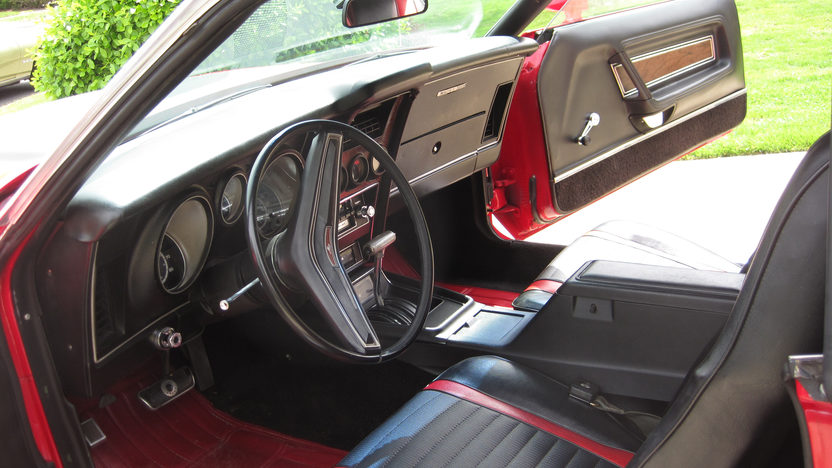 1973 Ford Mustang Mach 1 Fastback 351 CI, Automatic presented as lot F68 at Dallas, TX 2013 - image3