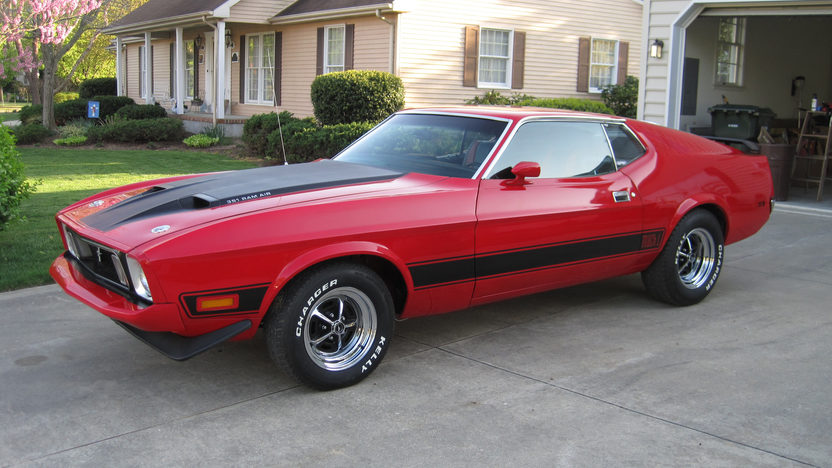 1973 Ford Mustang Mach 1 Fastback 351 CI, Automatic presented as lot F68 at Dallas, TX 2013 - image8