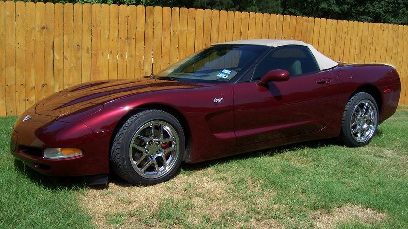 2003 Chevrolet Corvette Convertible presented as lot F70 at Dallas, TX 2013 - image8