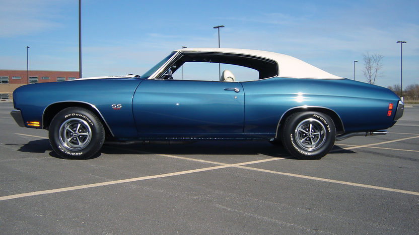 1970 Chevrolet Chevelle SS 454/450 HP, 4-Speed presented as lot F125 at Dallas, TX 2013 - image2