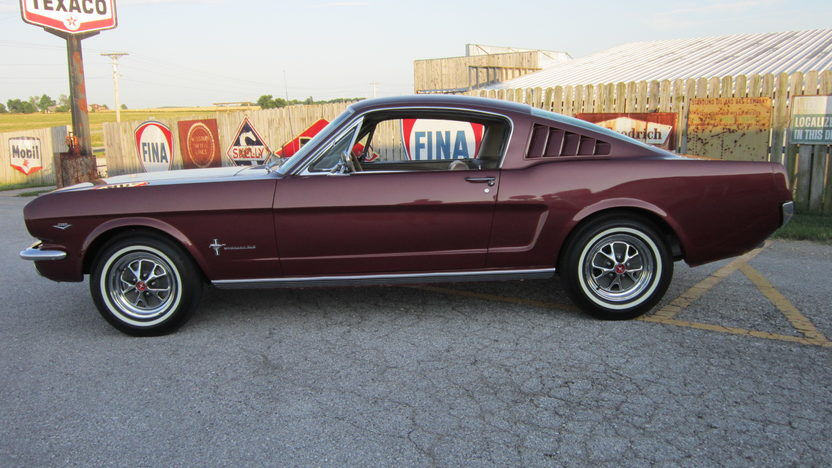 1965 Ford Mustang 2+2 Fastback 289/225 HP, Automatic presented as lot F172 at Dallas, TX 2013 - image2