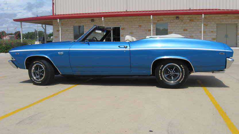 1969 Chevrolet Chevelle Convertible 396/350 HP, 4-Speed presented as lot F196 at Dallas, TX 2013 - image2