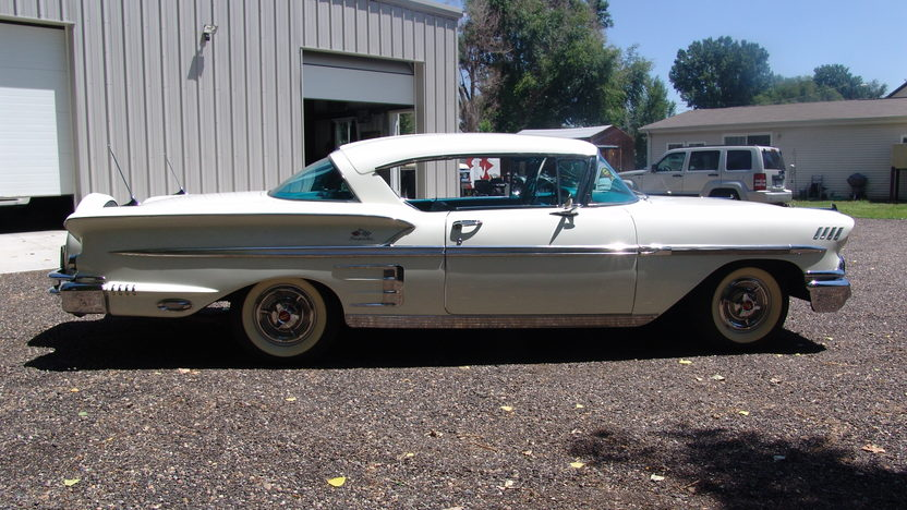 1958 Chevrolet Impala 348 CI, Automatic presented as lot F204 at Dallas, TX 2013 - image2