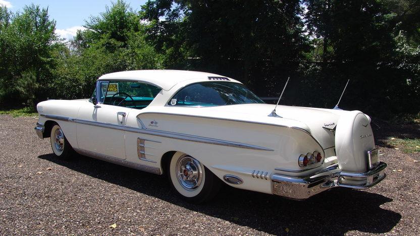 1958 Chevrolet Impala 348 CI, Automatic presented as lot F204 at Dallas, TX 2013 - image3