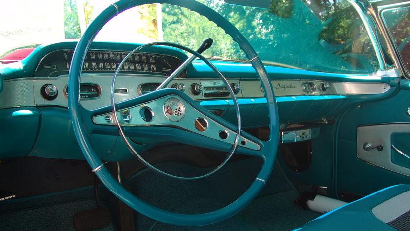 1958 Chevrolet Impala 348 CI, Automatic presented as lot F204 at Dallas, TX 2013 - image4