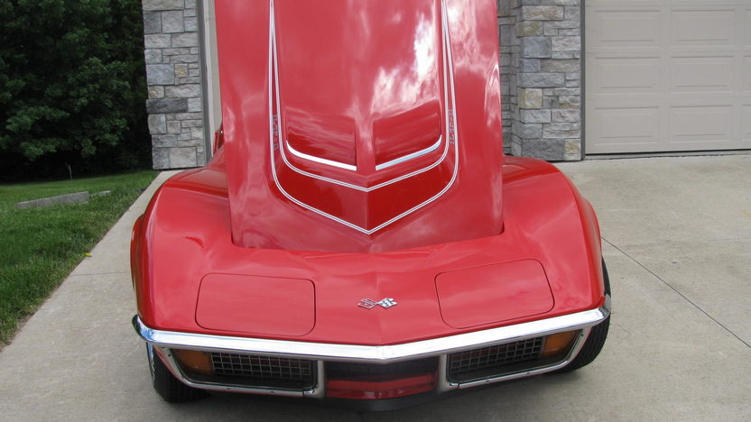 1972 Chevrolet Corvette LT1 Convertible 350/255 HP, 4-Speed presented as lot F215 at Dallas, TX 2013 - image7