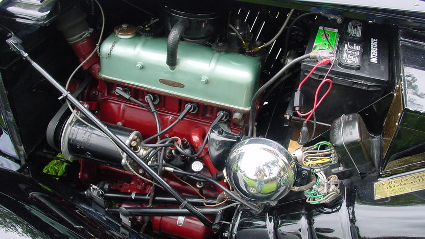 1953 MG TD Roadster 1250 CC, 4-Speed presented as lot F225 at Dallas, TX 2013 - image5
