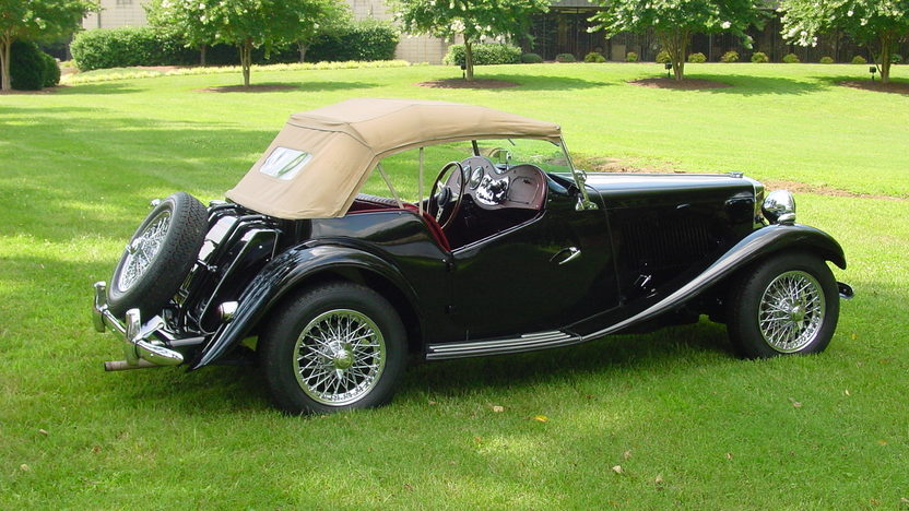 1953 MG TD Roadster 1250 CC, 4-Speed presented as lot F225 at Dallas, TX 2013 - image6