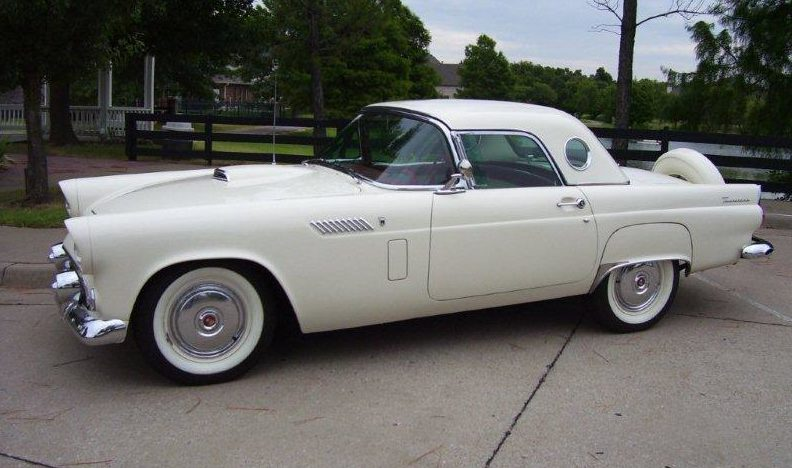 1956 Ford Thunderbird 312 CI, Automatic presented as lot S27 at Dallas, TX 2013 - image11