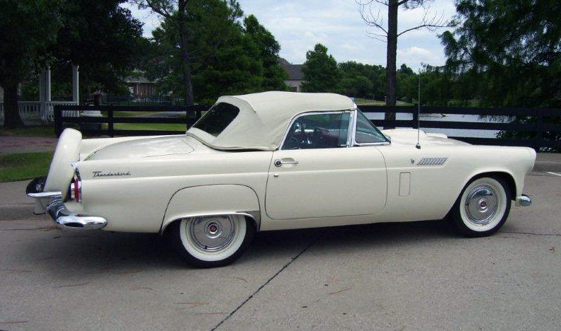 1956 Ford Thunderbird 312 CI, Automatic presented as lot S27 at Dallas, TX 2013 - image9