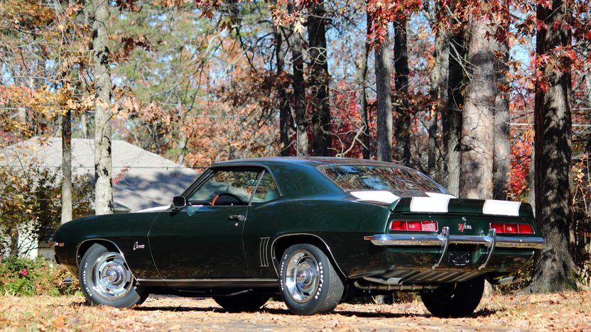 1969 Chevrolet Camaro Z28 JL8 4-Wheel Disc Brakes, Well Documented presented as lot S91 at Dallas, TX 2013 - image3