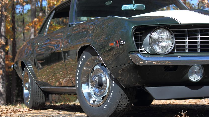 1969 Chevrolet Camaro Z28 JL8 4-Wheel Disc Brakes, Well Documented presented as lot S91 at Dallas, TX 2013 - image9