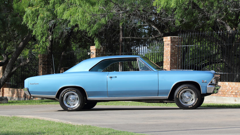 1966 Chevrolet Chevelle SS 396/375 HP, 4-Speed presented as lot S100 at Dallas, TX 2013 - image2