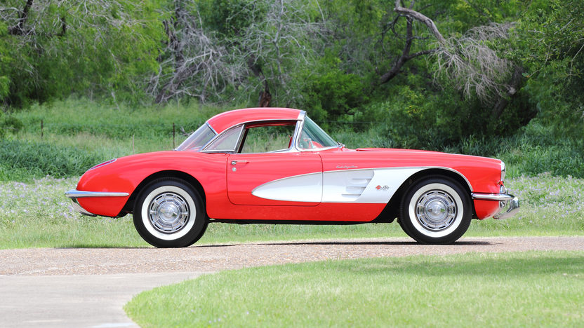 1960 Chevrolet Corvette Fuelie 283 CI, 4-Speed presented as lot S105 at Dallas, TX 2013 - image2