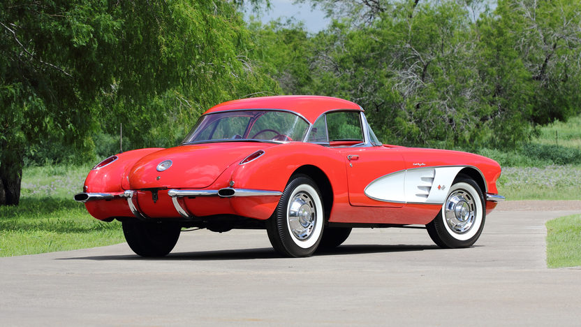 1960 Chevrolet Corvette Fuelie 283 CI, 4-Speed presented as lot S105 at Dallas, TX 2013 - image3