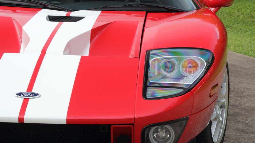 2005 Ford GT 5.4/550 HP, 6-Speed, Less Than 1,850 Miles presented as lot S107 at Dallas, TX 2013 - image10