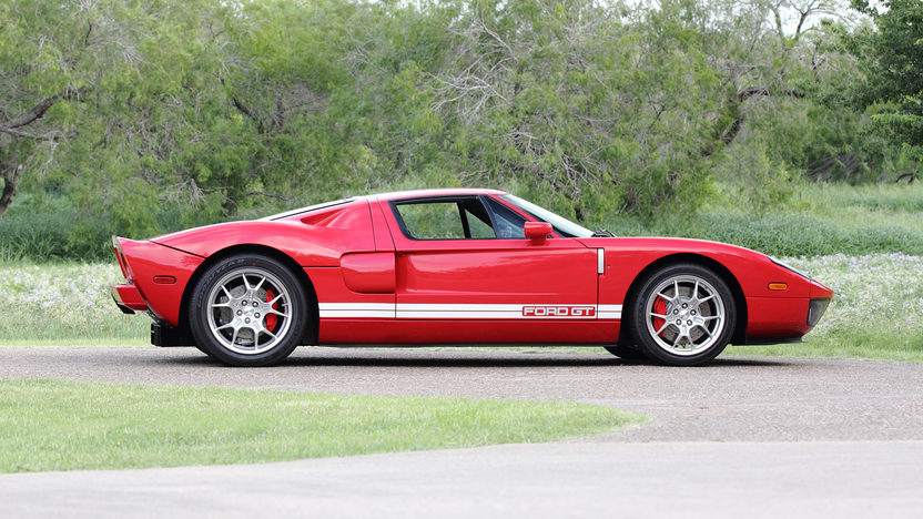 2005 Ford GT 5.4/550 HP, 6-Speed, Less Than 1,850 Miles presented as lot S107 at Dallas, TX 2013 - image2