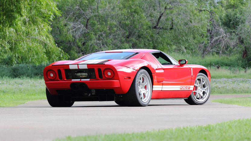 2005 Ford GT 5.4/550 HP, 6-Speed, Less Than 1,850 Miles presented as lot S107 at Dallas, TX 2013 - image3