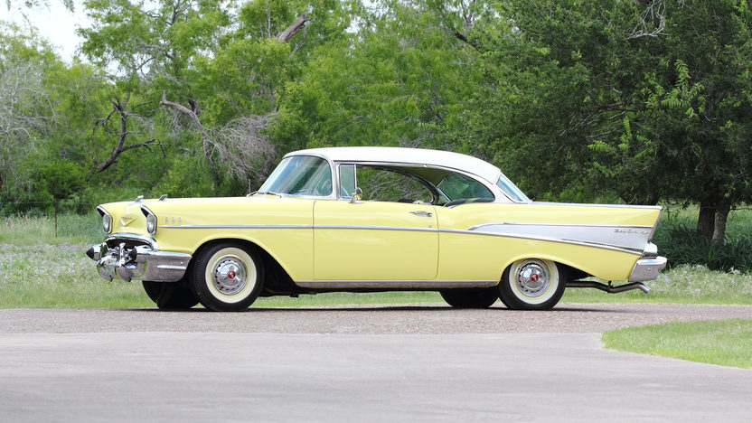 1957 Chevrolet Bel Air Hardtop 283 CI, Automatic presented as lot S109 at Dallas, TX 2013 - image2
