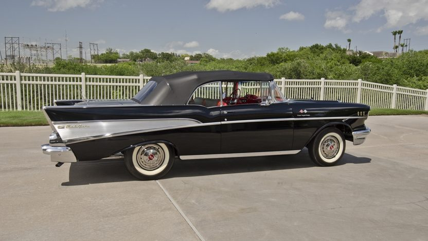1957 Chevrolet Bel Air Fuelie Convertible 283/250 HP, Highly Optioned presented as lot S120 at Dallas, TX 2013 - image12