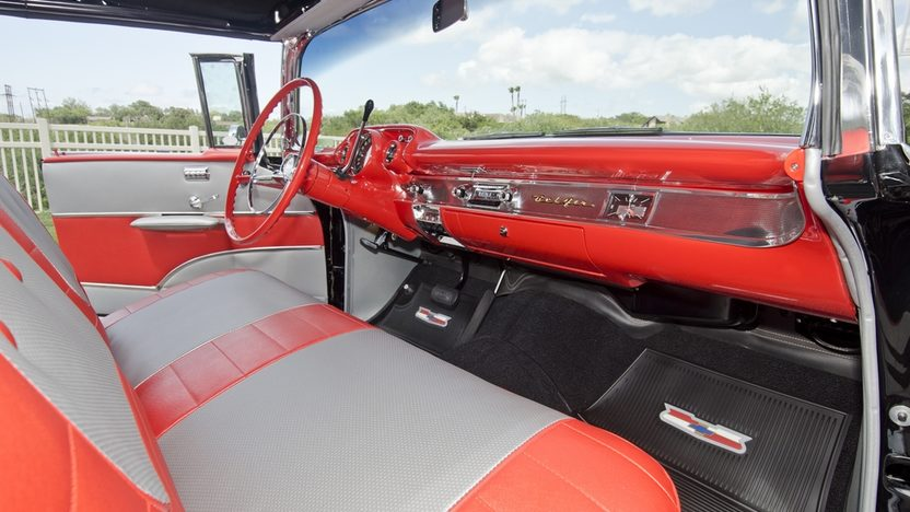 1957 Chevrolet Bel Air Fuelie Convertible 283/250 HP, Highly Optioned presented as lot S120 at Dallas, TX 2013 - image3