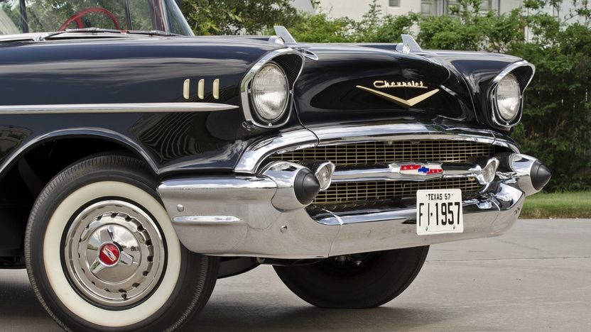 1957 Chevrolet Bel Air Fuelie Convertible 283/250 HP, Highly Optioned presented as lot S120 at Dallas, TX 2013 - image9