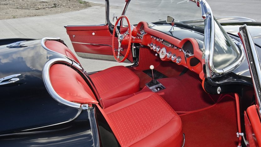 1957 Chevrolet Corvette Airbox 1 of 43 Airbox Corvettes Produced presented as lot S121 at Dallas, TX 2013 - image5