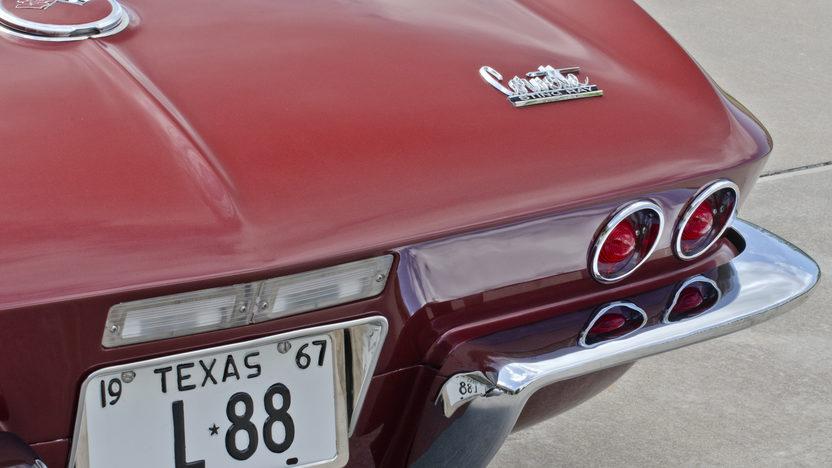 1967 Chevrolet Corvette L88 Convertible 1967 NHRA A/Sports Champion, Tank Sticker presented as lot S123 at Dallas, TX 2013 - image10
