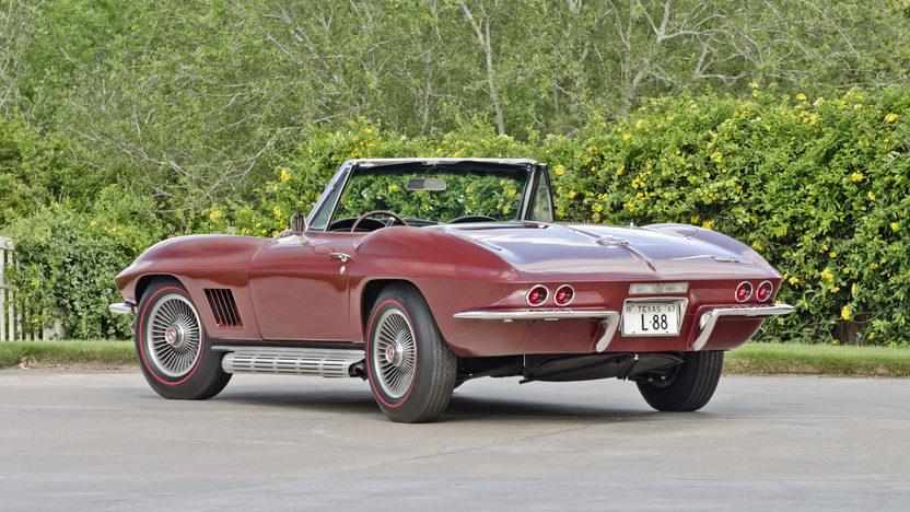 1967 Chevrolet Corvette L88 Convertible 1967 NHRA A/Sports Champion, Tank Sticker presented as lot S123 at Dallas, TX 2013 - image2