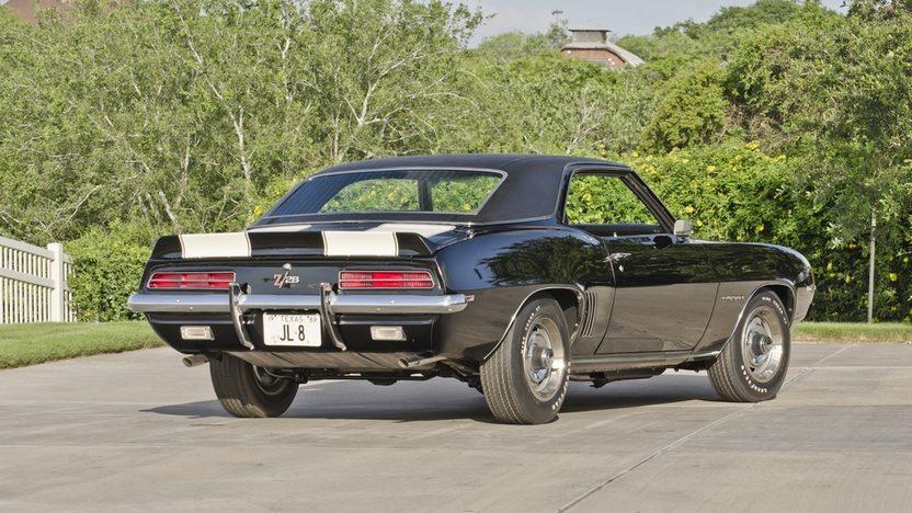 1969 Chevrolet Camaro RS Z28 JL8 4-Wheel Disc Brakes, Cross Ram Intake presented as lot S124 at Dallas, TX 2013 - image2