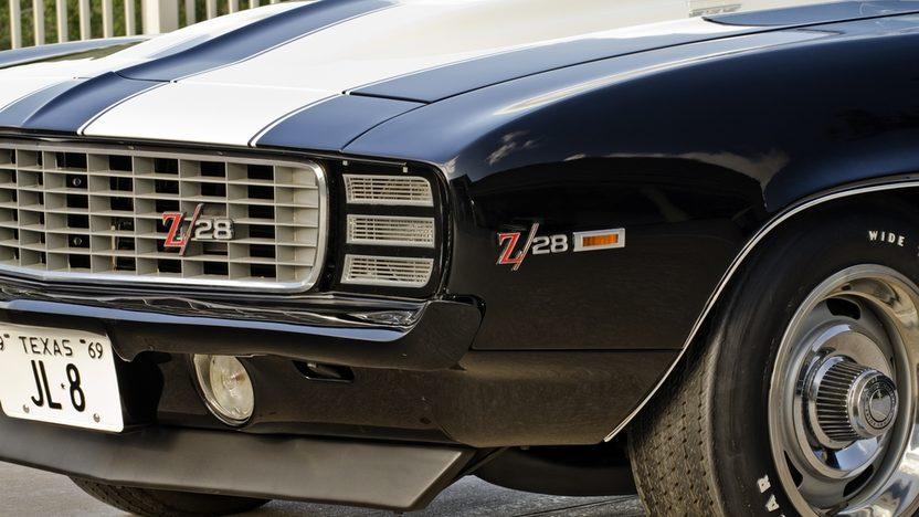 1969 Chevrolet Camaro RS Z28 JL8 4-Wheel Disc Brakes, Cross Ram Intake presented as lot S124 at Dallas, TX 2013 - image3