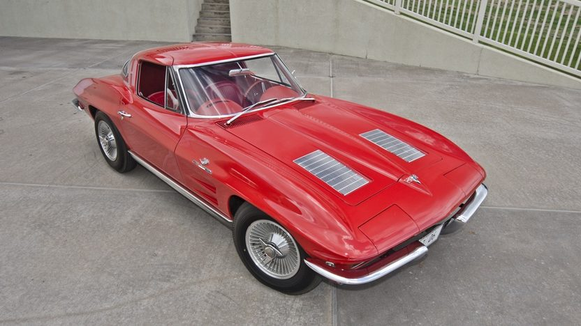1963 Chevrolet Corvette Z06 Red/Red, Bloomington Gold Certified presented as lot S125 at Dallas, TX 2013 - image12