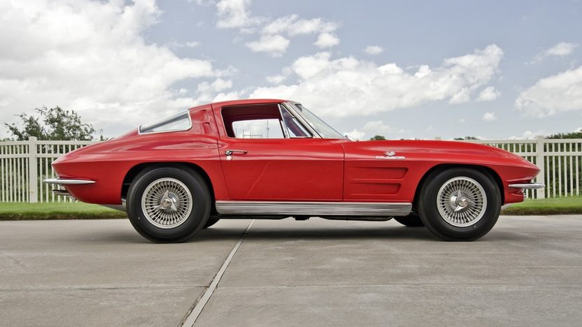 1963 Chevrolet Corvette Z06 Red/Red, Bloomington Gold Certified presented as lot S125 at Dallas, TX 2013 - image3