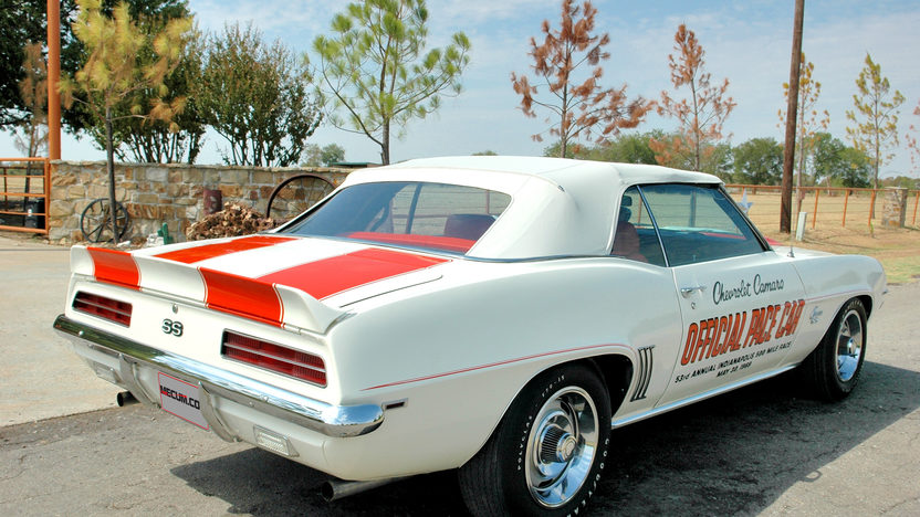 1969 Chevrolet Camaro Pace Car Edition 396/350 HP, 4-Speed presented as lot S131 at Dallas, TX 2013 - image7
