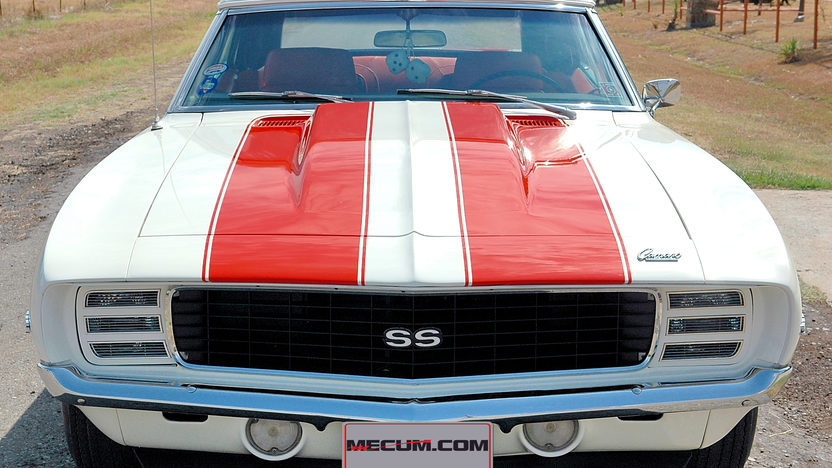 1969 Chevrolet Camaro Pace Car Edition 396/350 HP, 4-Speed presented as lot S131 at Dallas, TX 2013 - image8