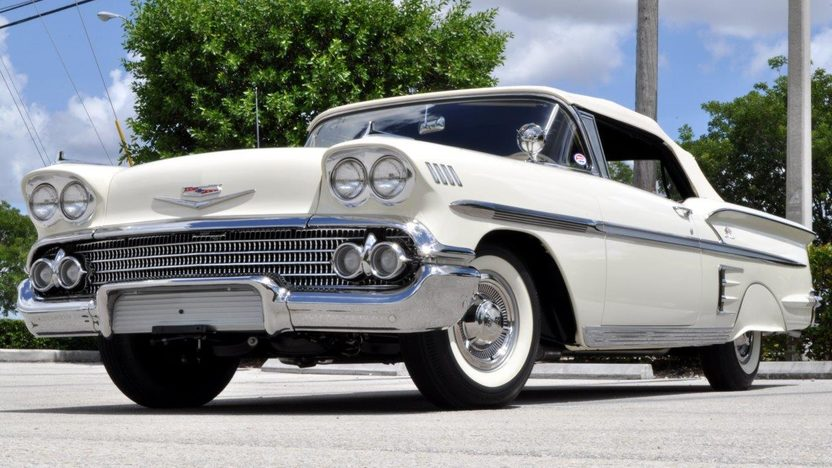 1958 Chevrolet Impala Convertible 283/230 HP, Automatic presented as lot S144 at Dallas, TX 2013 - image9