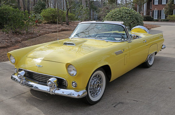 1956 Ford Thunderbird One Owner for 50 Years presented as lot S63 at Dallas, TX 2013 - image8