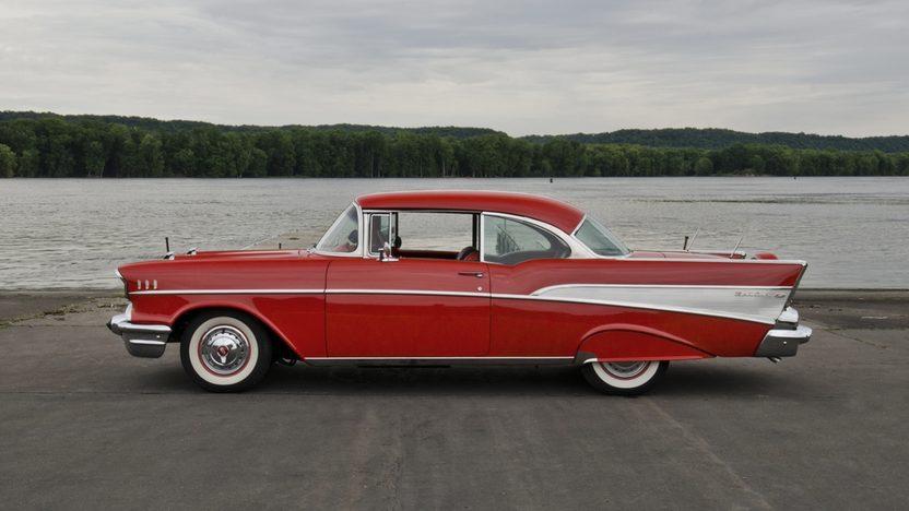1957 Chevrolet Bel Air Hardtop presented as lot S157 at Dallas, TX 2013 - image2