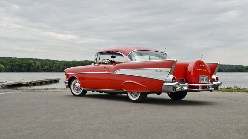 1957 Chevrolet Bel Air Hardtop presented as lot S157 at Dallas, TX 2013 - image3
