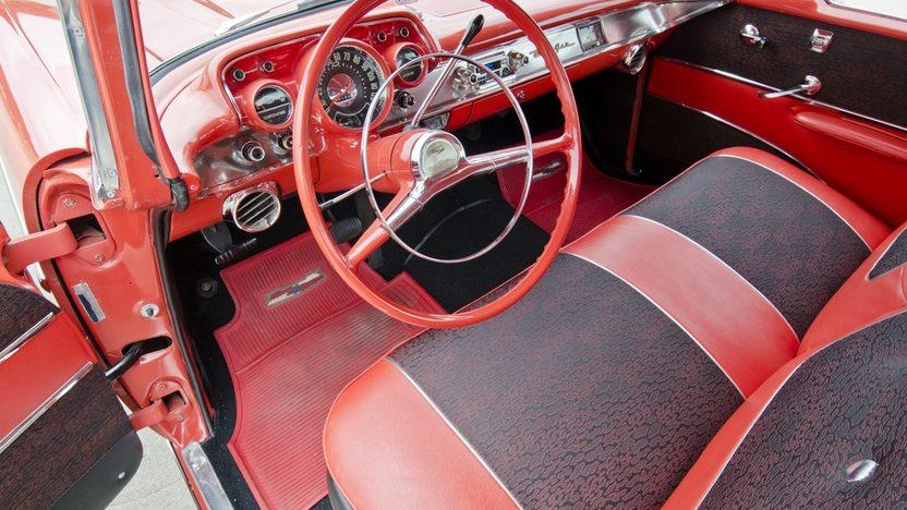 1957 Chevrolet Bel Air Hardtop presented as lot S157 at Dallas, TX 2013 - image4