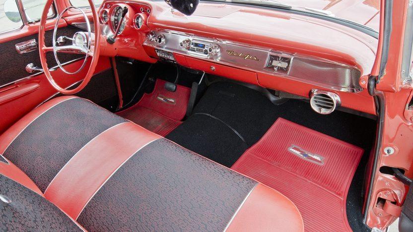 1957 Chevrolet Bel Air Hardtop presented as lot S157 at Dallas, TX 2013 - image5