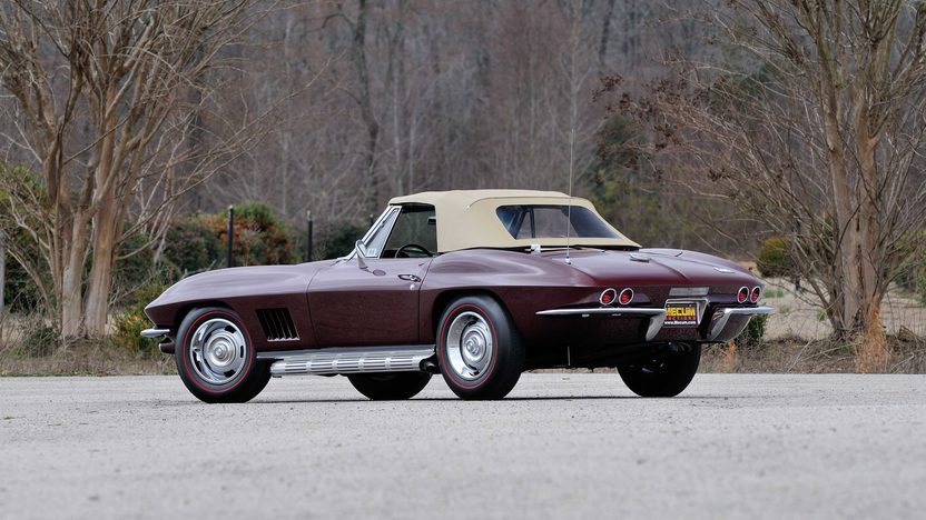 1967 Chevrolet Corvette Convertible 427/400 HP, 4-Speed presented as lot S141.1 at Dallas, TX 2013 - image3