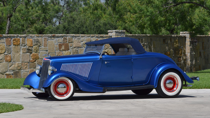 1934 Ford Roadster Street Rod 350/370 HP, Automatic presented as lot T75.1 at Dallas, TX 2013 - image10