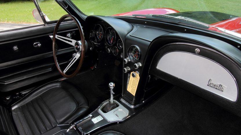 1967 Chevrolet Corvette Convertible 427/435 HP, Bloomington Gold Benchmark presented as lot S136.1 at Dallas, TX 2014 - image5