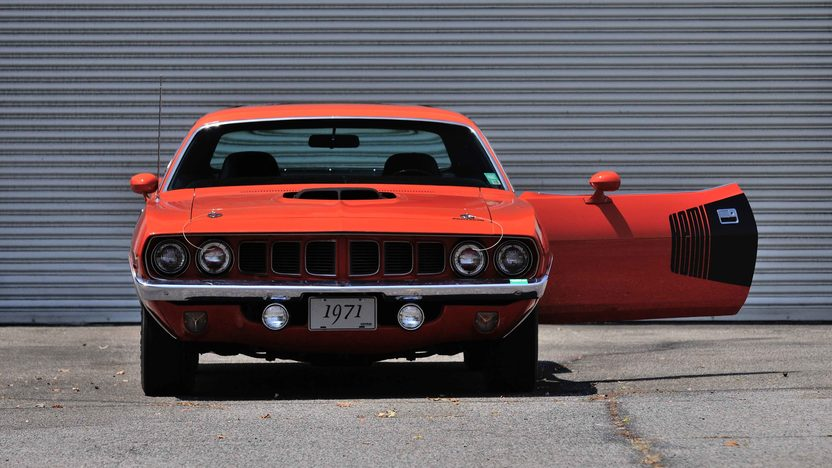 1971 Plymouth Hemi Cuda 426/425 HP, 4-Speed, Two Broadcast Sheets presented as lot S96.1 at Dallas, TX 2014 - image10