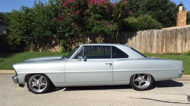 1967 Chevrolet Nova Resto Mod Mecum Dallas 2015 S121