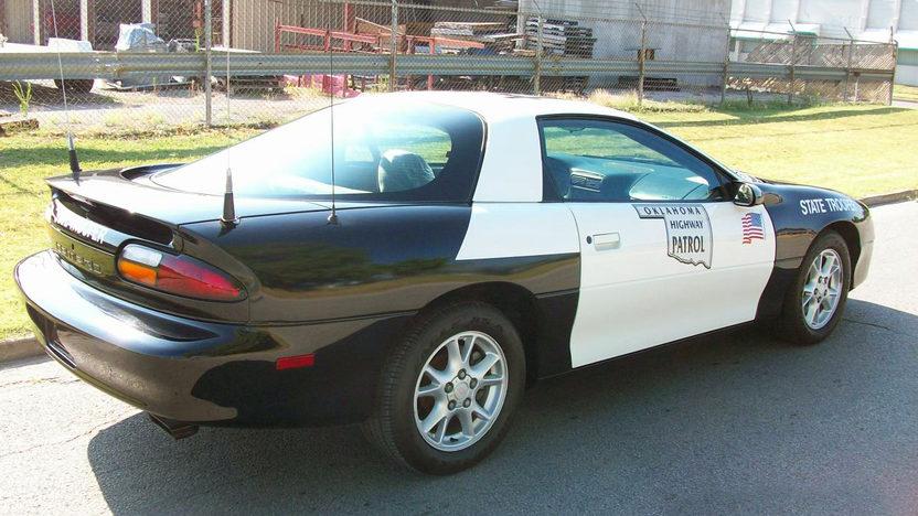 2002 Chevrolet Camaro Police Car presented as lot F162 at Dallas, TX 2011 - image2