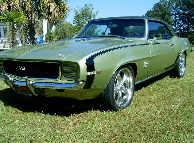 1969 Chevrolet Camaro RS/SS 396/350 HP, 4-Speed presented as lot F236 at Dallas, TX 2011 - image5