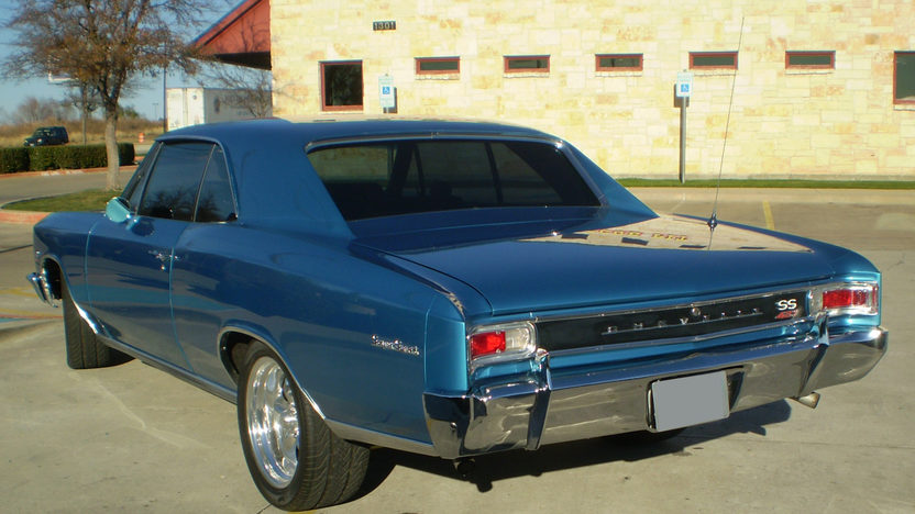 1966 Chevrolet Chevelle SS 427/450 HP, 5-Speed presented as lot S96 at Dallas, TX 2011 - image2